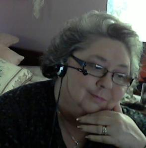 The author using Skype for interviews.