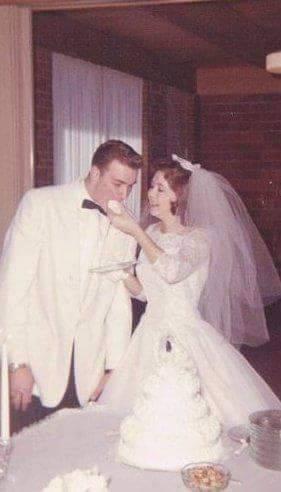 Joyce wedding cake